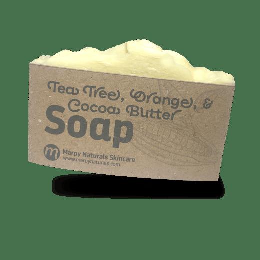 Tea Tree, Orange, & Cocoa Butter Soap image