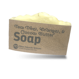 Tea Tree, Orange, & Cocoa Butter Soap image
