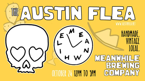 Austin Flea at Meanwhile Brewing event image