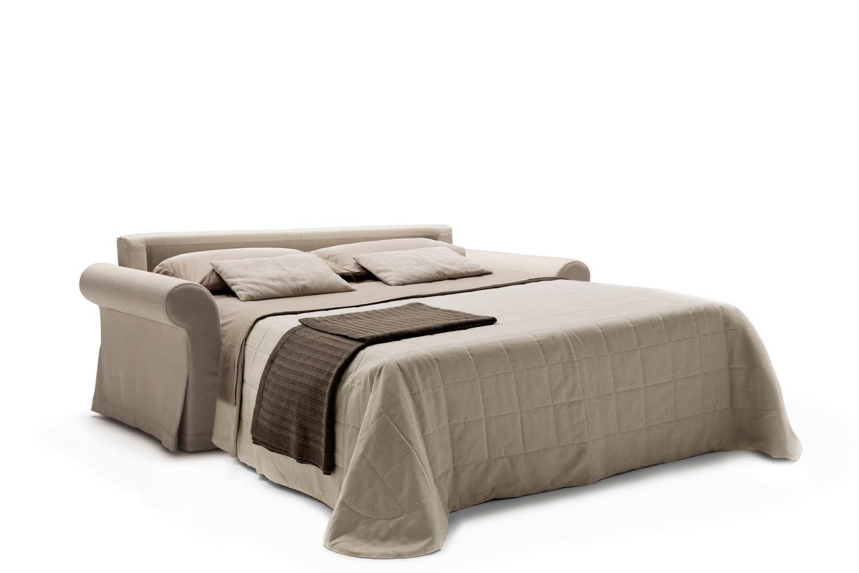 Divano letto con materasso alto 18 cm Ellis