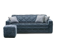Douglas quilted sofa with diamond tufted decoration