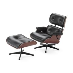 Office Lounge Chair And Ottoman Portable Massage Miniature Eames Moma Design Store