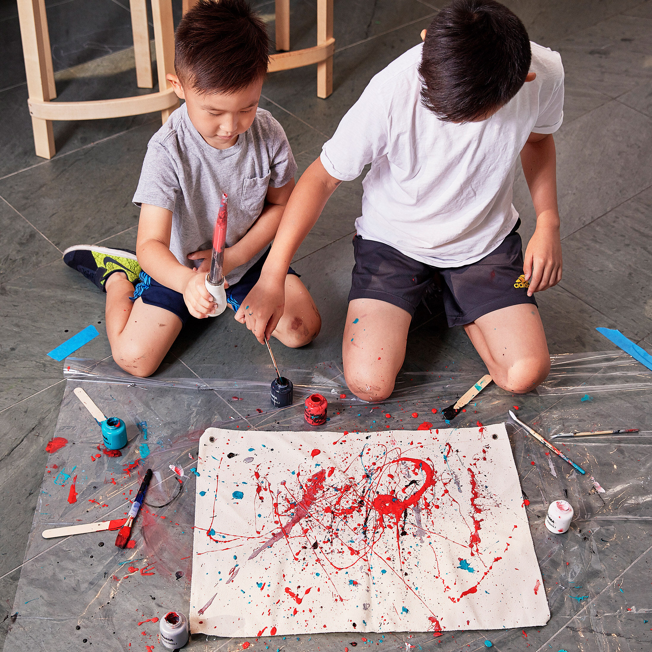Art Making With Moma Action Painting Kit Design Store