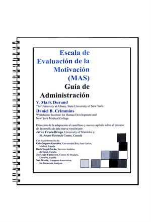 Motivation Assessment Scale Administration Guide (Spanish