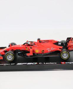 Bburago Signature Ferrari Charles Leclerc F1 SF90 Die cast 143 2019 1 scaled