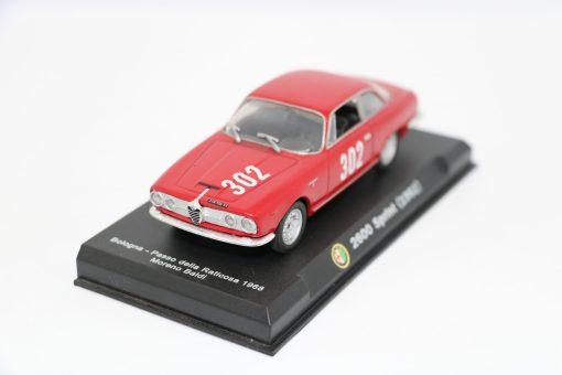 Alfa Romeo 143 2600 Sprint 1962 Bologna Passo della Raticosa 1968 1 scaled