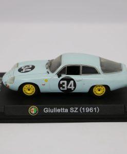 Alfa Romeo 143 Giulietta SZ 1961 24 Ore di Le Mans 1963 scaled