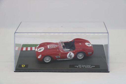 Altaya 143 Ferrari 250 Testa Rossa 1000 km Nurburgring 1959 P. Hill scaled