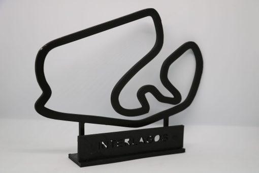 F1 Race track INTERLAGOS Brasil GP 24x20cm 2 scaled