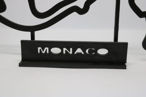 F1 Race track MONACO 27x17 cm 2 scaled