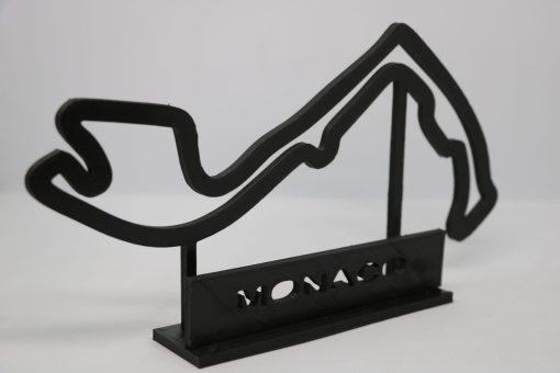 F1 Race track MONACO 27x17 cm 3 scaled