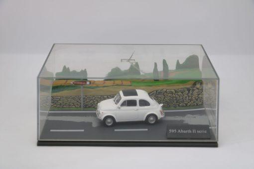 Hachette 143 595 Abarth II serie DIORAMA 1 scaled
