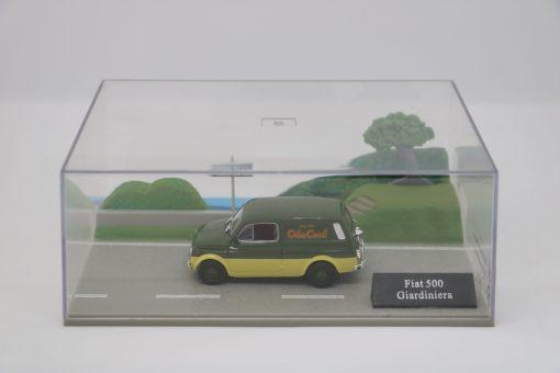 Hachette 143 Fiat 500 Giardiniera DIORAMA 3 scaled