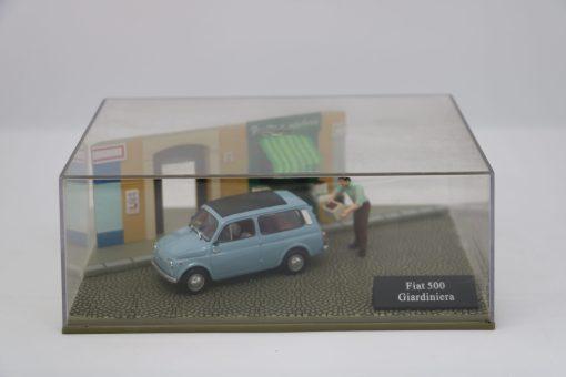 Hachette 143 Fiat 500 Giardiniera DIORAMA scaled
