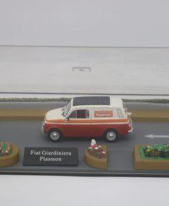 Hachette 143 Fiat 500 Giardiniera Plasmon DIORAMA 1 scaled