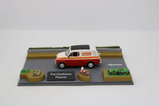 Hachette 143 Fiat 500 Giardiniera Plasmon DIORAMA scaled