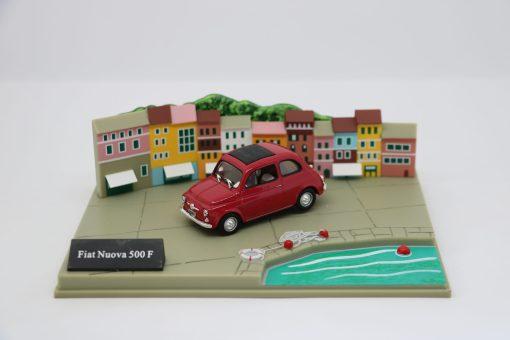 Hachette 143 Fiat Nuova 500 F DIORAMA scaled