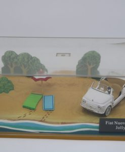 Hachette 143 Fiat Nuova 500 Jolly DIORAMA 2 scaled