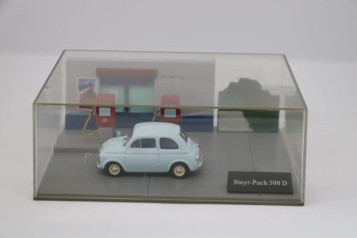 Hachette 143 Steyr Punch 500 D DIORAMA scaled