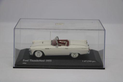 Minichamps 143 Ford Thunderbird 1955 white 6 scaled