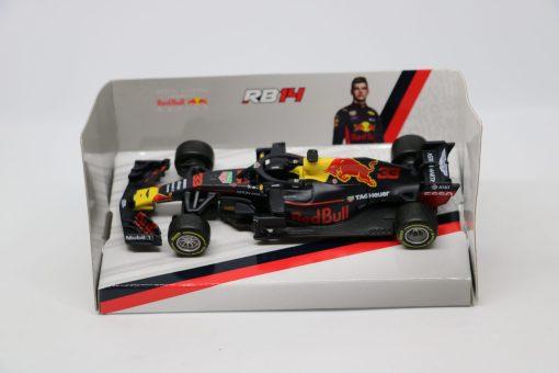 Bburago 143 RedBull F1 RB14 Max Verstappen 33 Die Cast 1 scaled