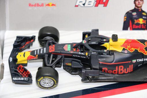 Bburago 143 RedBull F1 RB14 Max Verstappen 33 Die Cast 3 scaled