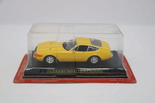 DIE CAST 143 ALTAYA FERRARI 365 GTB4 Daytona Gialla scaled