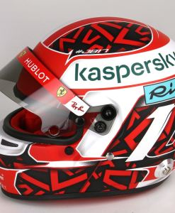 Mini Casco Charles Leclerc 2020 Scala 1 2 laterale