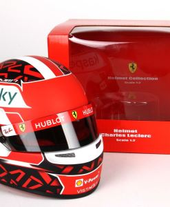 Mini Casco Charles Leclerc 2020 Scala 12 10