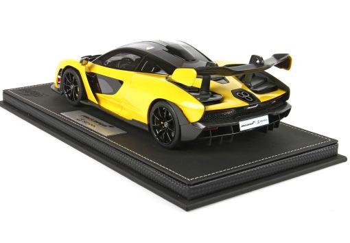118 BBR McLaren Senna 2018 Volcano Yellow P18149H1 1