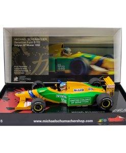 118 Michael Schumacher Benetton Ford B192 Belgian GP Winner 1992 1