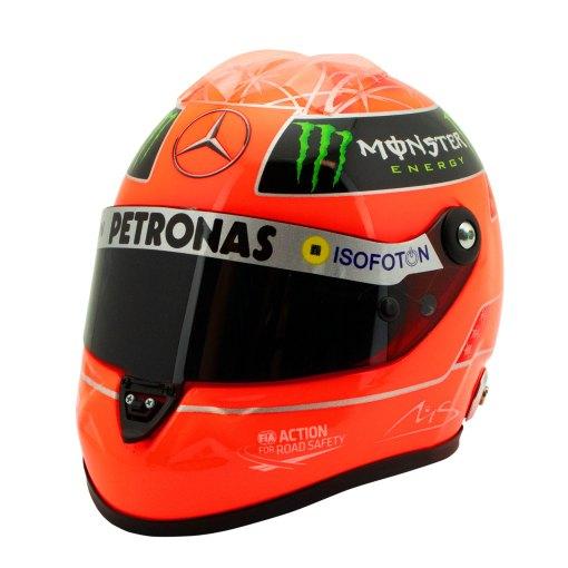 Michael Schumacher Final Helmet GP Formel 1 2012 1 2 7