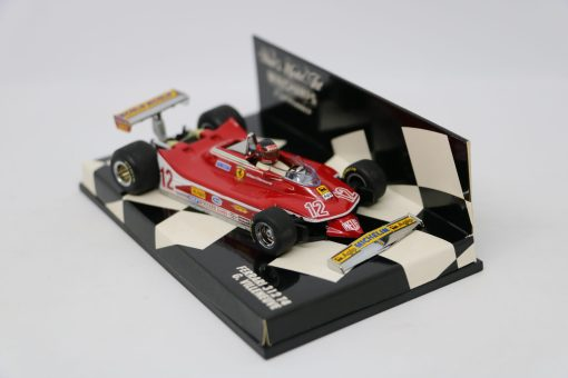 Minichamps 143 Ferrari 312 T4 G. Villeneuve 3 scaled