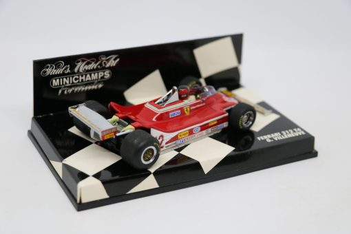 Minichamps 143 Ferrari 312 T4 G. Villeneuve 4 scaled