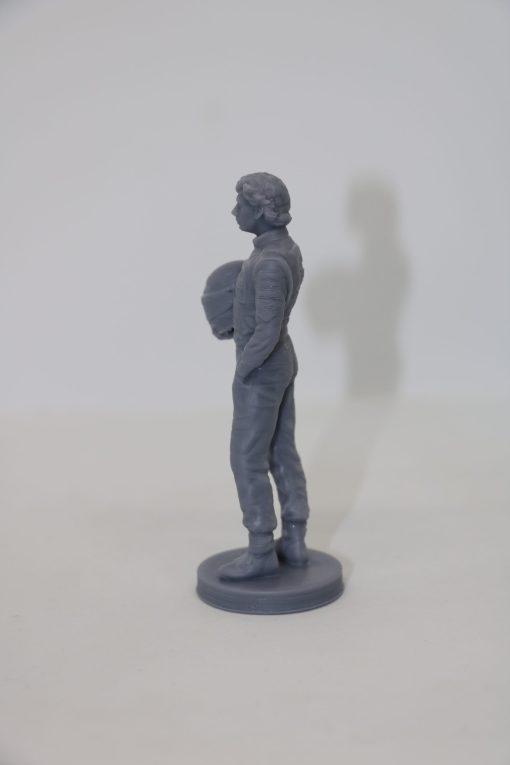 Statuetta Ayrton resin 10cm 5 scaled