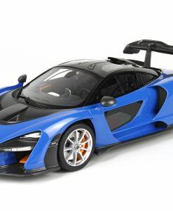 BBR 118 McLaren Senna 2018 Azura Blue