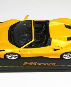 BBR 118 Ferrari F8 Tribute Spider Giallo Tristrato LATO