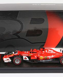 BBR 143 Ferrari SF70 H GP Italia 2017 Vettel box