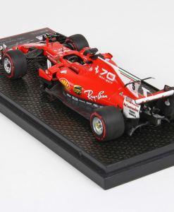 BBR 143 Ferrari SF70 H GP Italia 2017 Vettel retro