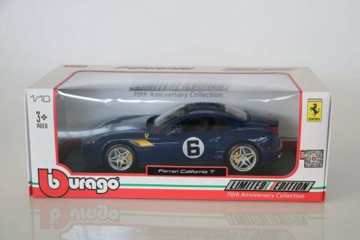 Bburago 118 Ferrari California T 70th Anniversary Collection 3 scaled