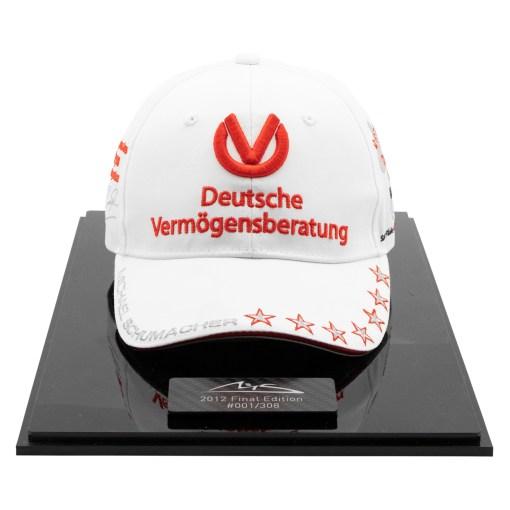 Cappellino personale Michael Schumacher Brasile 2012 Edizione limitata 308 pcs. 7