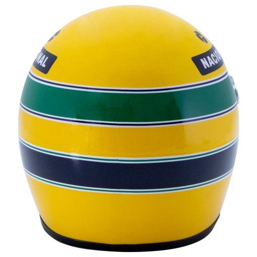 Mini Helmet Ayrton Senna Formula Uno 1988 McLaren scala 12 3