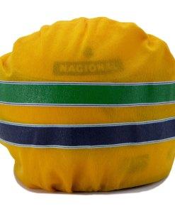 Mini Helmet Ayrton Senna Formula Uno 1988 McLaren scala 12 CHIUSO IN BOX
