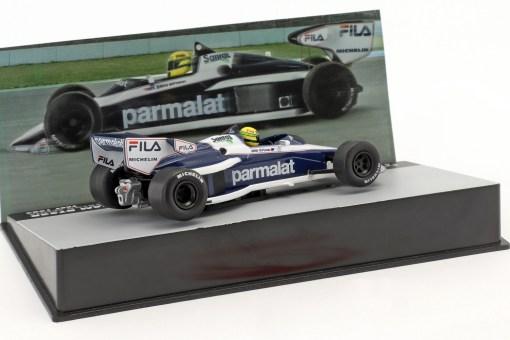 Modellino Altaya 1 43 Brabham BT52B Ayrton Senna test 1983 1