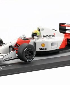 Modellino Altaya 1 43 McLaren MP47 Ayrton Senna Germany GP 1992 2