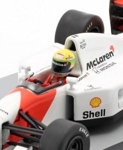 Modellino Altaya 1 43 McLaren MP47 Ayrton Senna Germany GP 1992 4