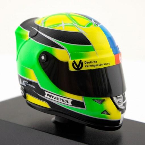 Mini Helmet 18 Mick Schumacher Belgium Gp 2017 5