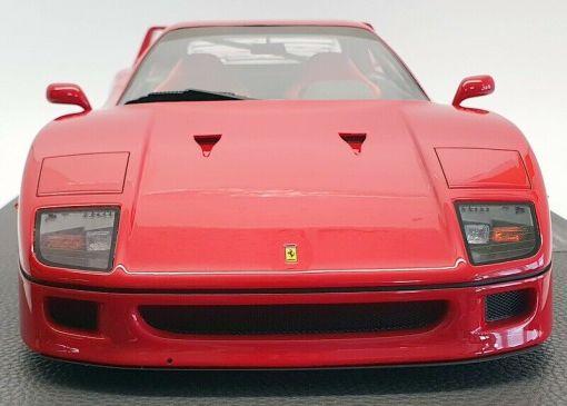 Modellino TOP MARQUES Ferrari F40 1987 Rossa 1 12 frontale