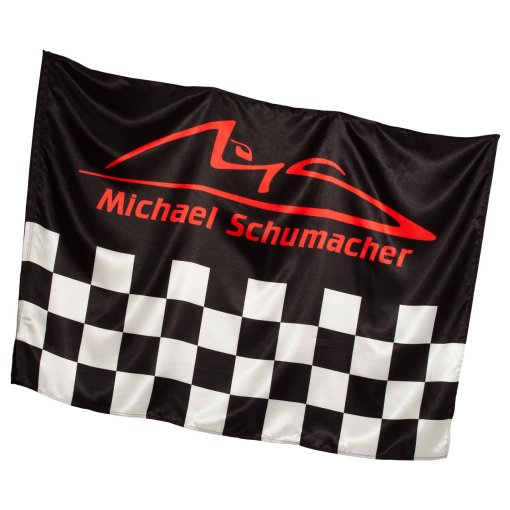 Bandiera Michael Schumacher a scacchi