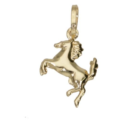 Ciondolo cavallino oro giallo 1